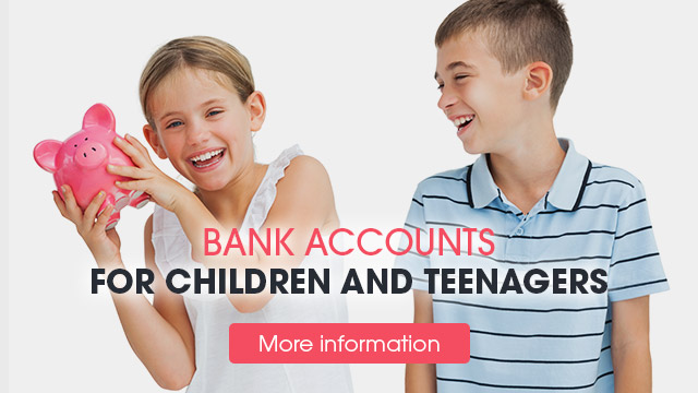 banking accounts for children and teenagers