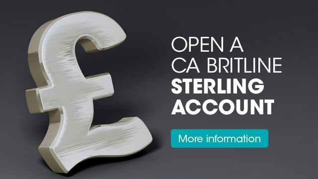 Offer Sterling Account
