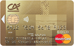 Carte Gold Credit Agricole.Mastercard Gold Credit Agricole Britline French Banking