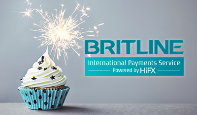 Britline International Payments Service celebrates its first birthday!