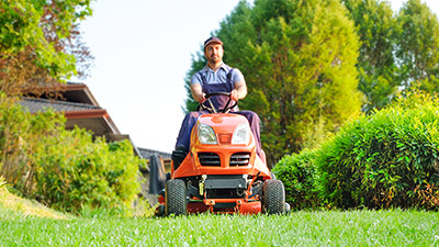 Lawnmowers and Small Tractors